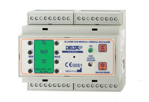 Alarm 2441AS-2025M (9 kanalen, hoog/laag)