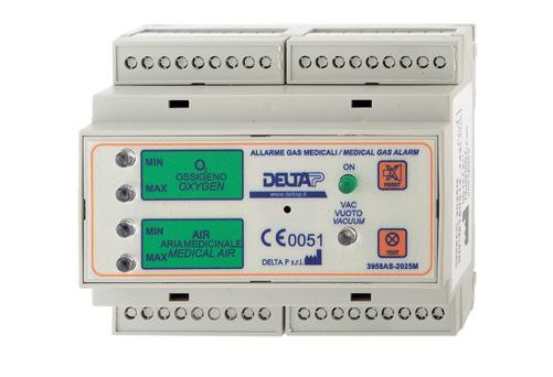 Alarm 3958AS-2025M (5 kanalen, leidingdruk)
