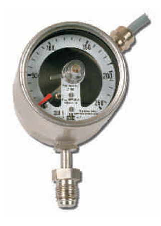 RVS contactmanometers, VCR aansluiting