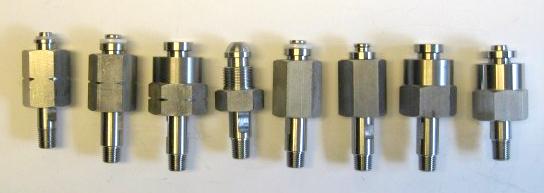 Cilinderaansluitingen RVS NPT