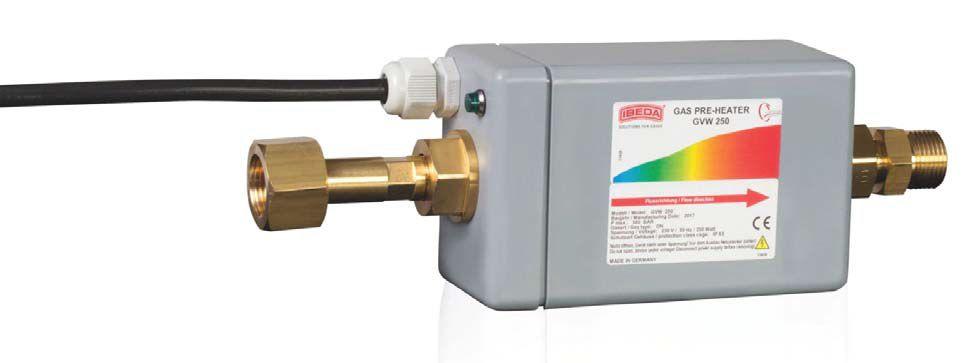 Gasverwarmer GVW250